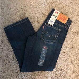 Boys' Levi's blue jeans